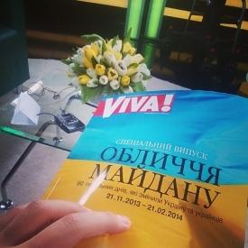 Журнал Вива,Обличчя Майдану