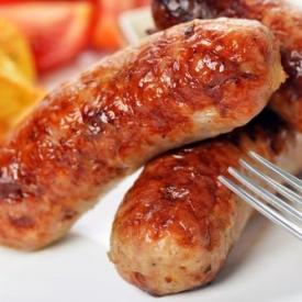 колбаса,сосиски,переработанное мясо,питание,вредные продукты