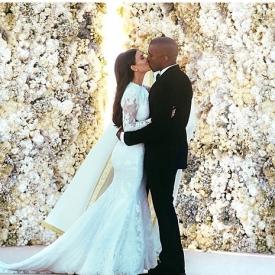 звездные семьи,звездная пара,свадебное платье