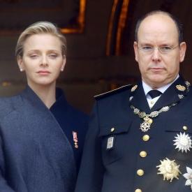 принц Альбер,Шарлен Уиттсток,княгиня Шарлен родила,фото,королевская семья