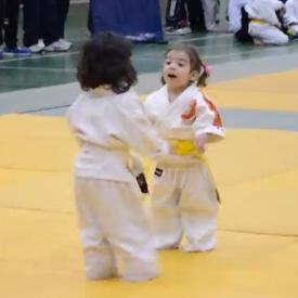 дзюдо,спорт,видео,смешное детское видео