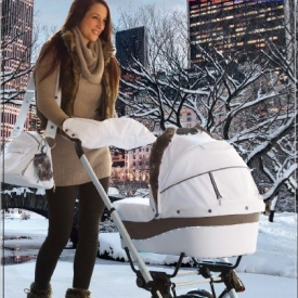 Стильная коляска 2 в 1 – для малыша и для мамы