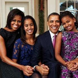 Барак Обама,Мишель Обама,фото,звездные семьи