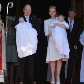 принц Альберт,Шарлен Уиттсток,крестины,королевская семья