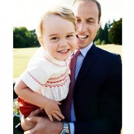принц Джордж,королевская семья