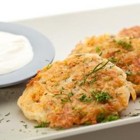 Биточки из картофеля и творога (Рецепт)
