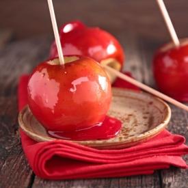 Яблоки в карамели (Рецепт)