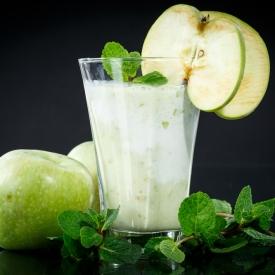 Яблочное пюре с йогуртом (Рецепт)
