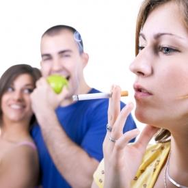 курение,пассивное курение,вредные привычки