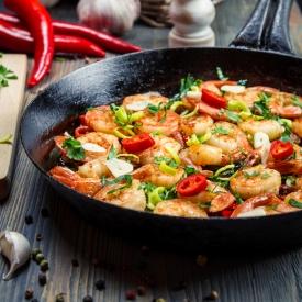 креветки,морепродукты