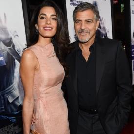 Джордж Клуни,Джордж и Амаль Клуни,звездные семьи,звездные подарки,звездные родители