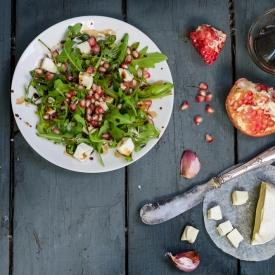 Салат с телятиной и гранатом (Рецепт)