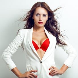 Миранда Керр,модель,грудь