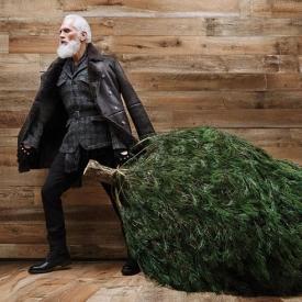 Санта Клаус,Санта уже не тот,модный Санта,Дед Мороз