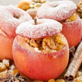 запеченные яблоки,яблоки для ребенка,яблоки