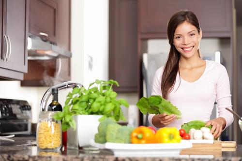 овощи на кухне