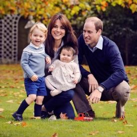 принцесса Шарлотта,принц Георг,королевская семья