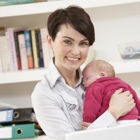 уход за новорожденным,работа и ребенок