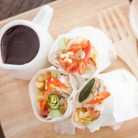 Идеальная закуска: спринг-роллы по-тайски (Рецепт)