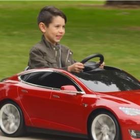 игрушки для ребенка,детский электрокар,Tesla Model S,Tesla
