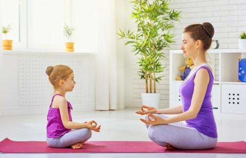 йога дети