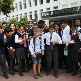 пятиклассник в кругосветке,путешествие с ребенком,путешествие в Индию