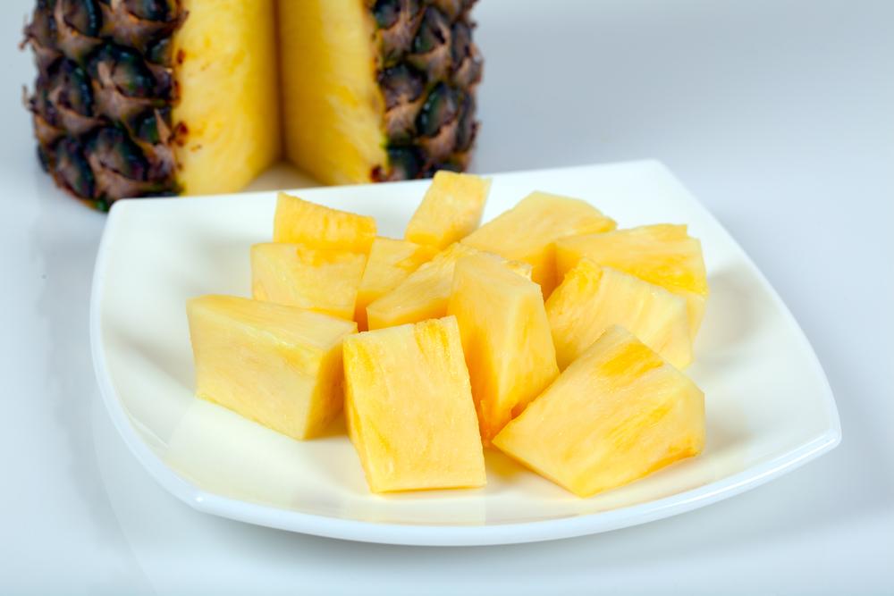 Полезные продукты: ананас