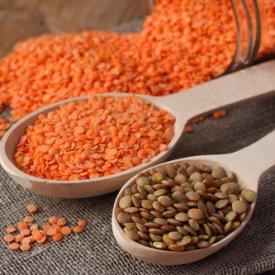 полезные свойства чечевицы,чечевица для похудения,магний, калий, цинк, железо
