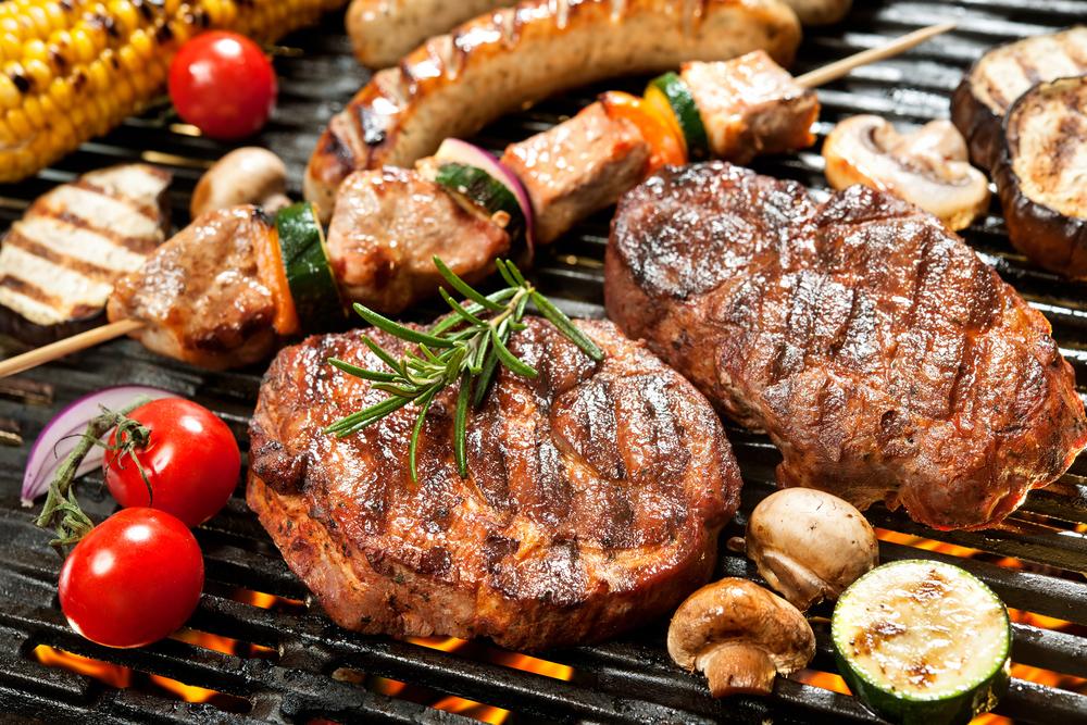 Продукты питания: мясо-гриль