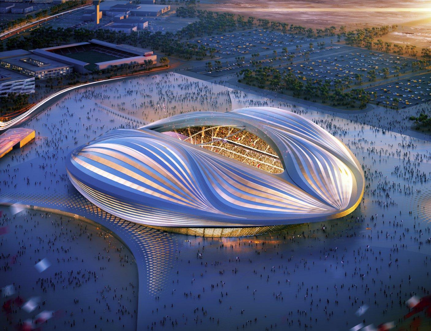 Проект Национального стадиона в Токио. Строительство должно завершиться в 2018 году