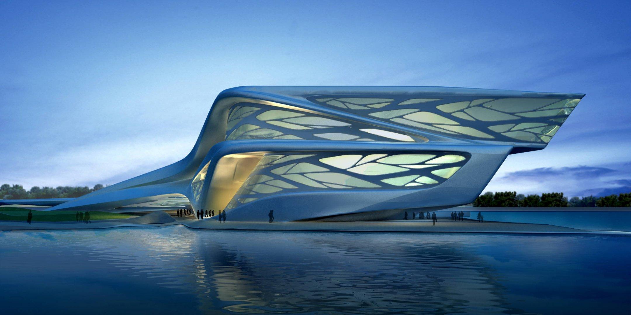 Центр искусств в Абу-Даби, ОАЭ