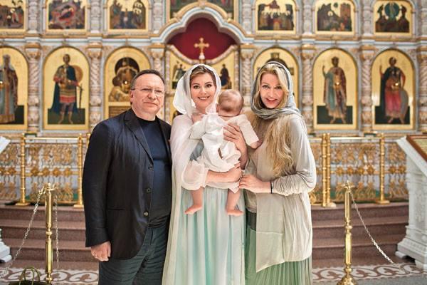 Звезды на крещение детей фото