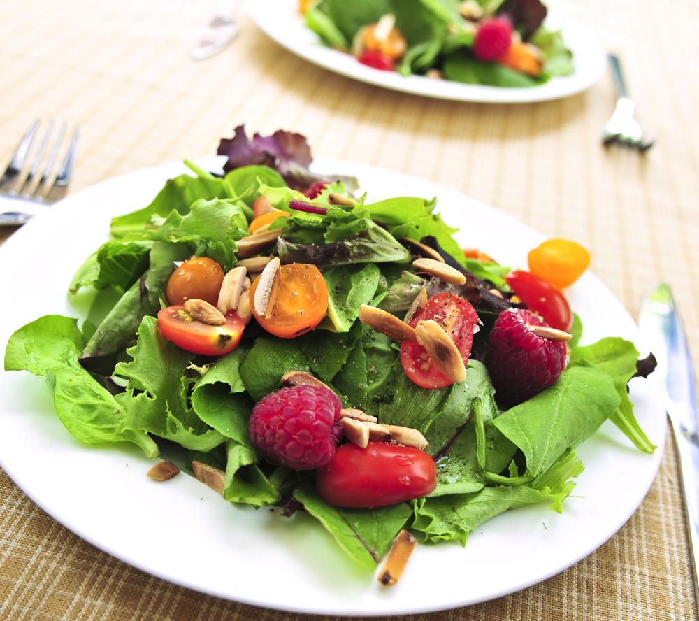 ягоды салат