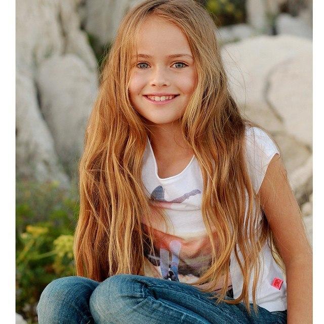 Самая красивая и стильная девочка