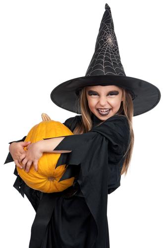 Костюм на хэллоуин легко и просто