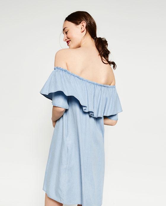 зара платье