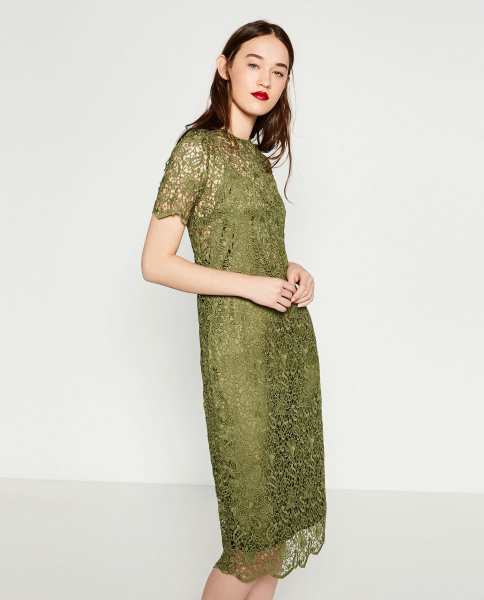 платье zarа
