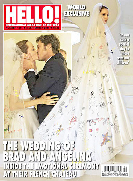 Анджелина Джоли свадьба