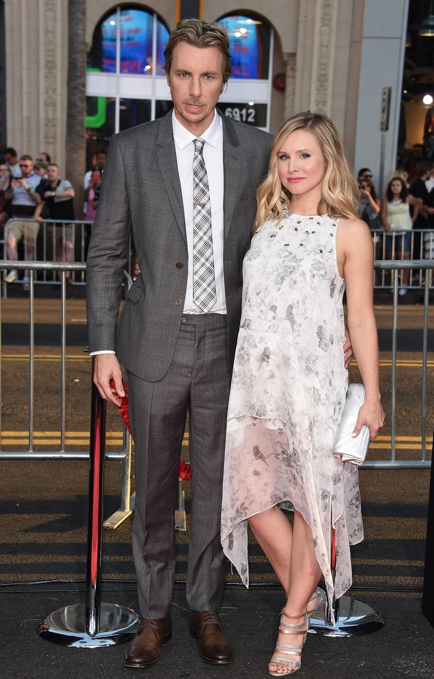 Кристен Белл с мужем