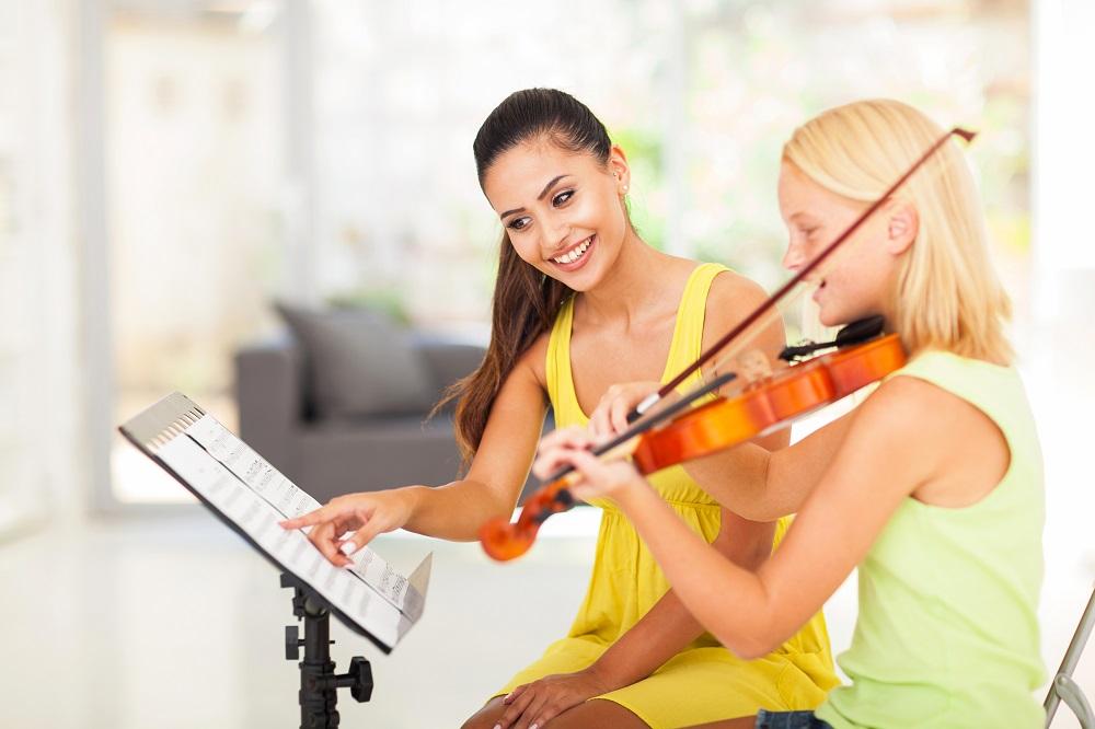 Девочка со скрипкой