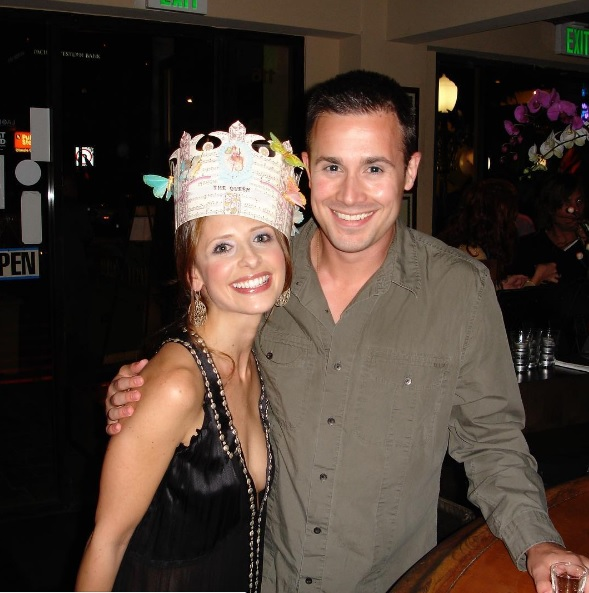 Сара с мужем
