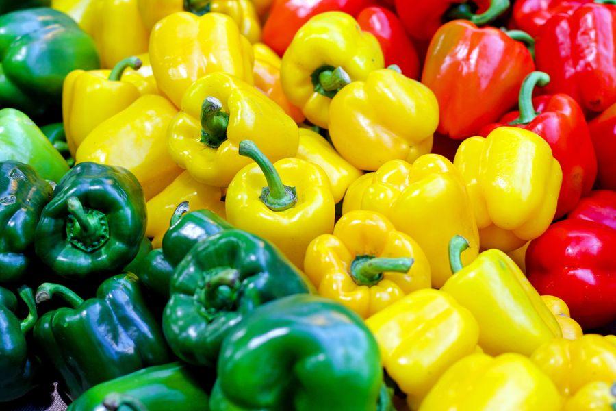 Овощи для похудения: болгарский перец