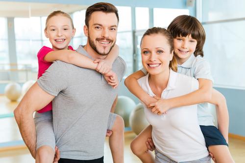 спорт семья