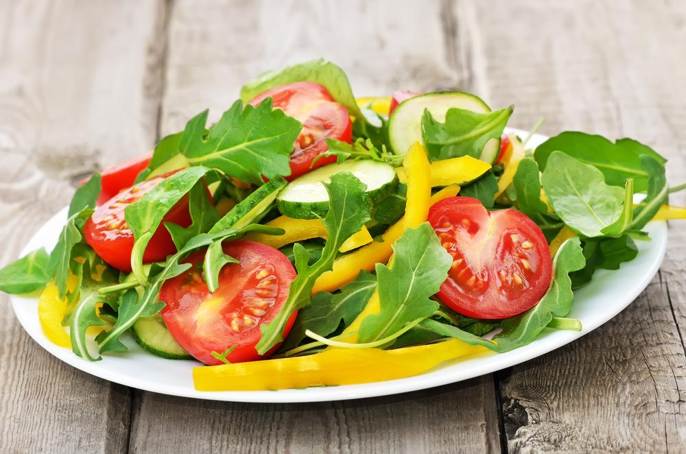 Овощи для похудения: руккола
